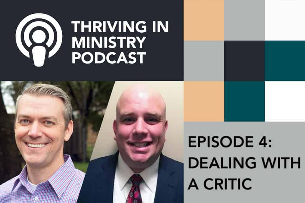 Episode 4 – Dealing with a Critic