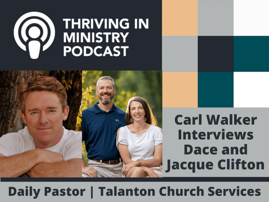 Season 2 Episode 30: Carl Walker interviews Jacque and Dace Clifton on the practical realities of sabbaticals.